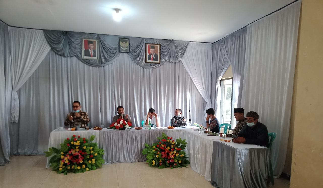 Diskusi Pengelolaan Sampah Bersama BUMDes se-kecamatan Plered